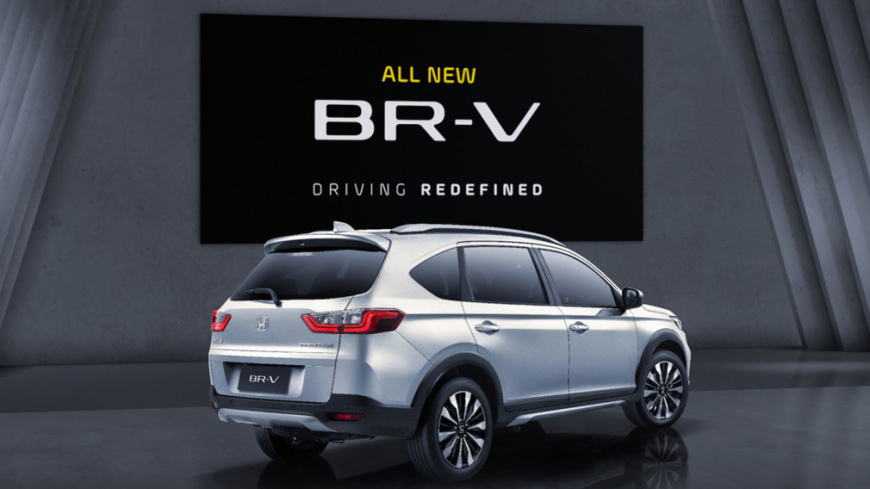 Концерн Honda презентовал 7-местный кроссовер BR-V второй генерации