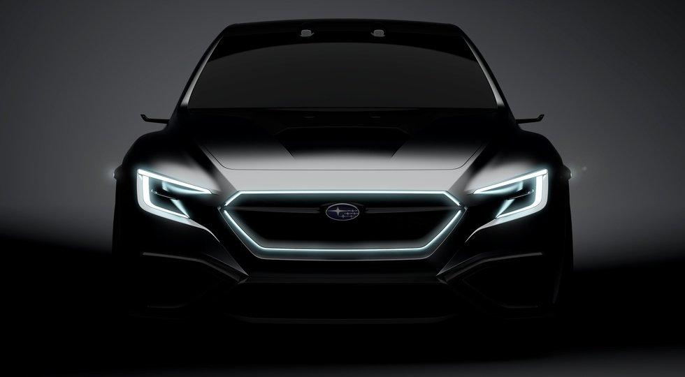 Субару покажет вТокио предвестника седана WRX обновленного поколения