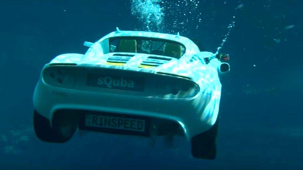 В интернете продемонстрировали подводный Lotus Elise