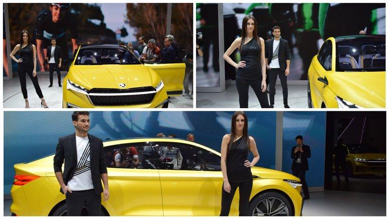Эксперты назвали пятерку самых красивых девушек Женевского автосалона
