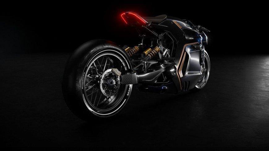 Независимый дизайнер создал потрясающий концепт мотоцикла BMW