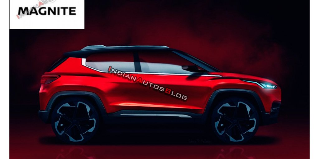 Кроссовер Nissan меньше Juke обзавелся названием Magnite