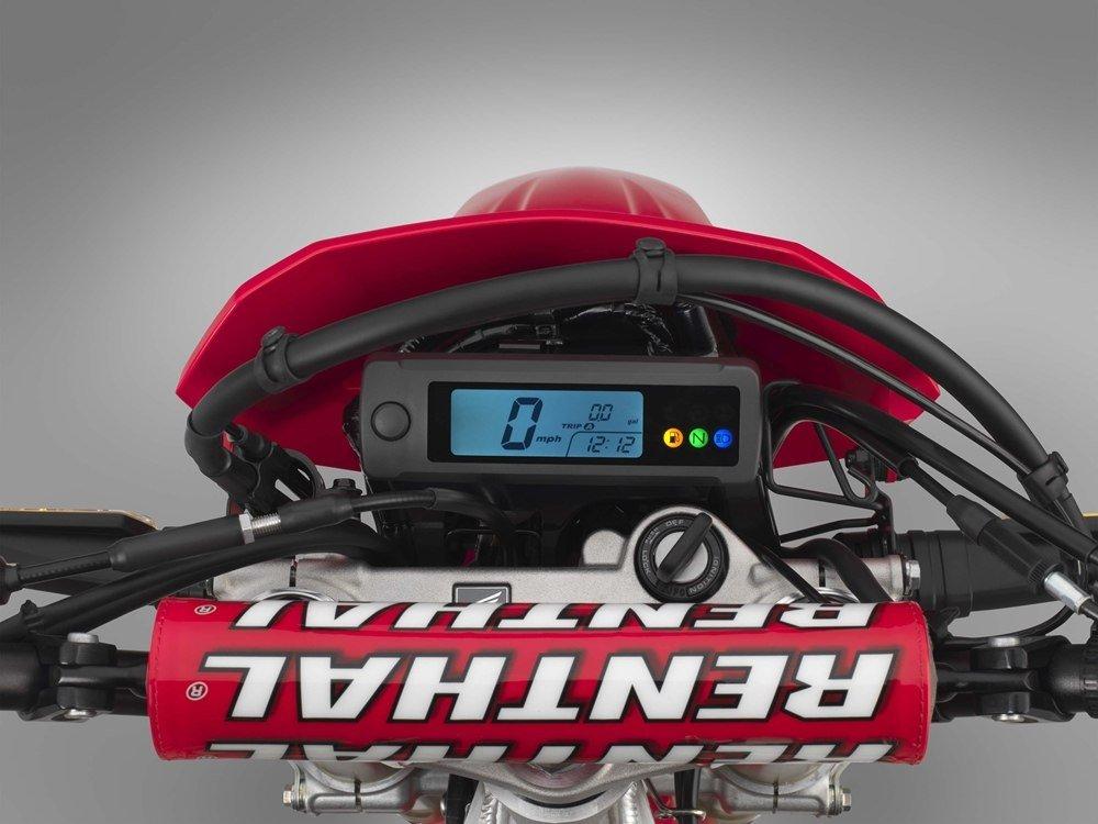 Мощность эндуро Honda CRF450L увеличилась вдвое