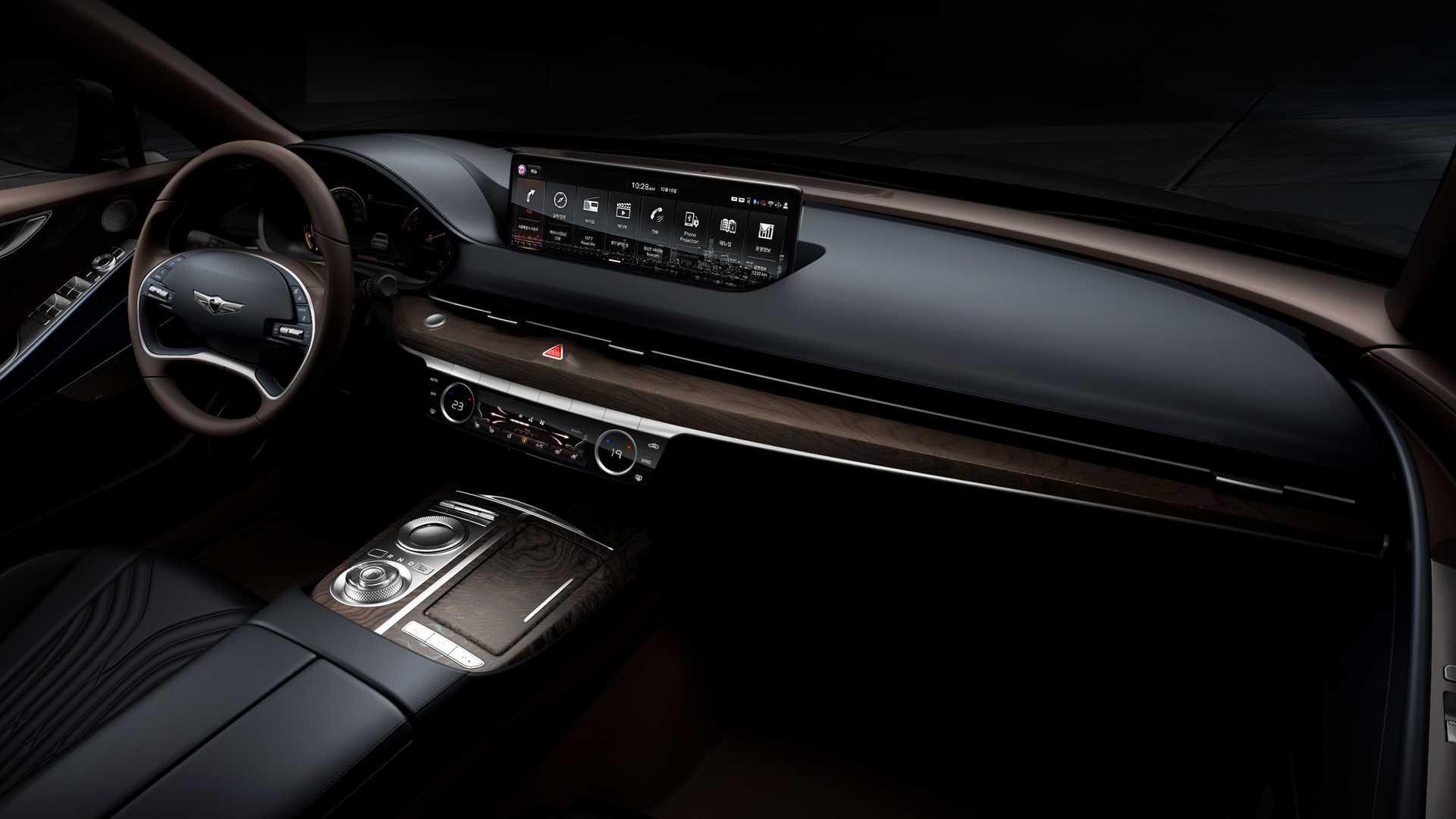 Genesis покажет обновленный седан G80 30 марта