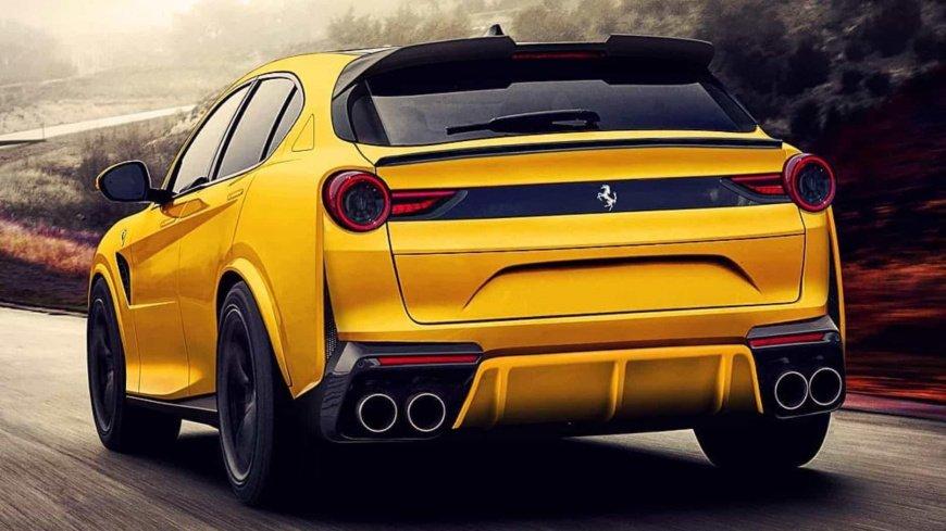 Кроссовер Ferrari Purosangue был замечен на тестах