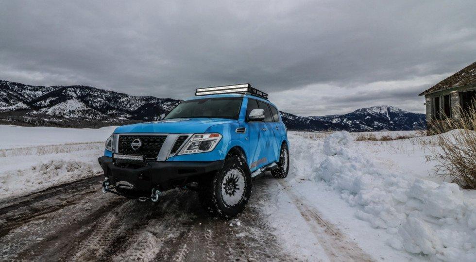 Ниссан готовит вседорожный автомобиль Armada вверсии Snow Patrol