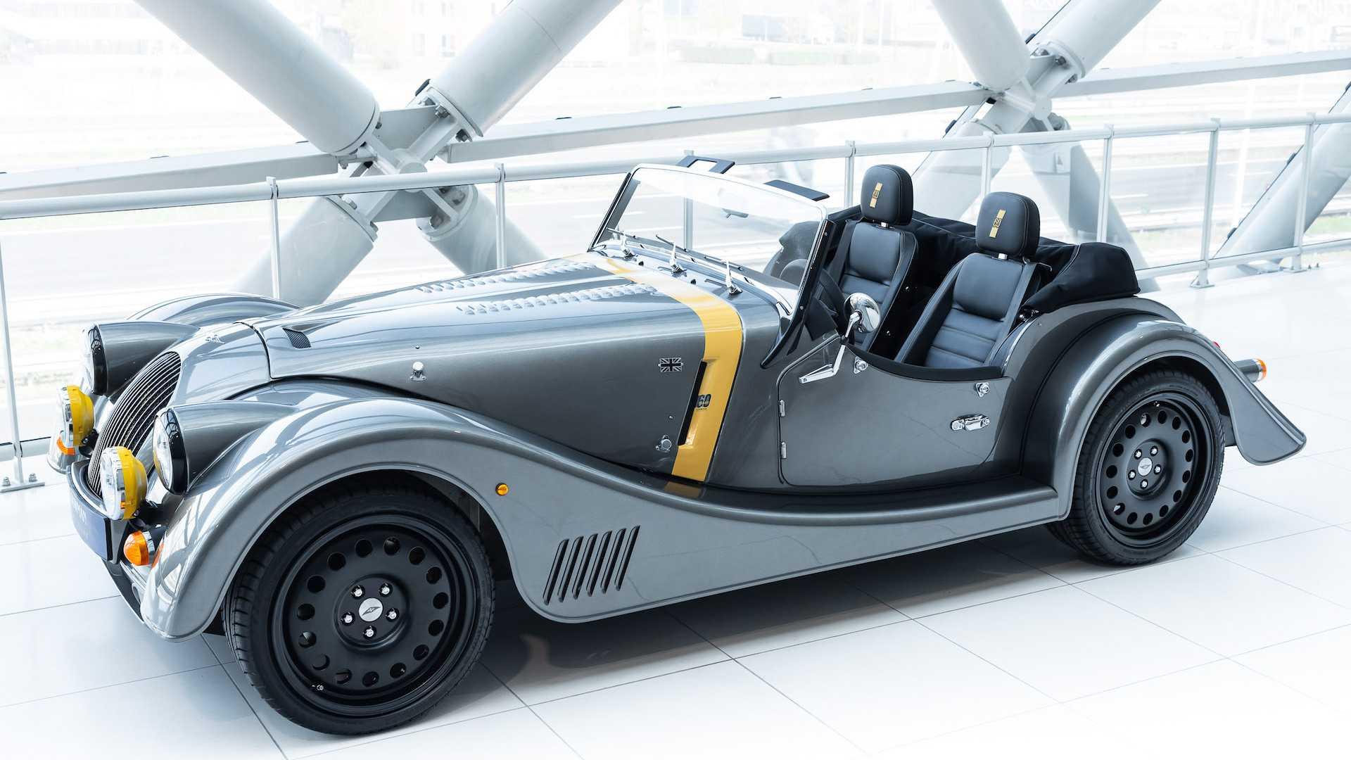Morgan выпустил юбилейную версию своих ретро-автомобилей