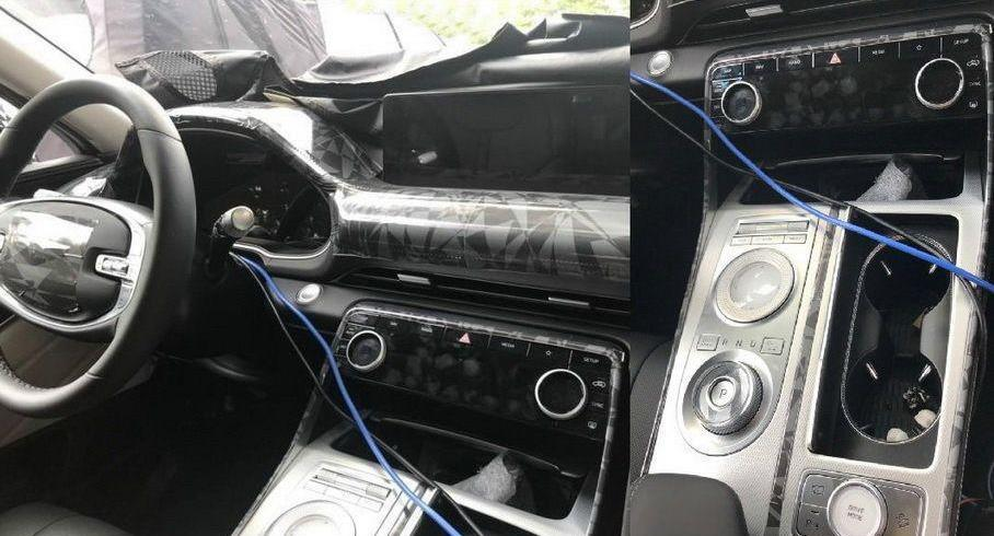 Конкурент BMW X5 от Genesis показал салон без камуфляжа
