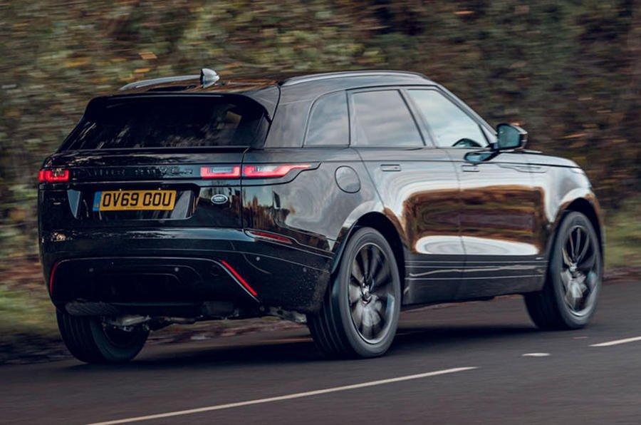 Range Rover Velar получил лимитированную серию R-Dynamic Black