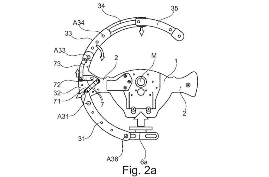 BMW разрабатывает руль, меняющий форму во время движения