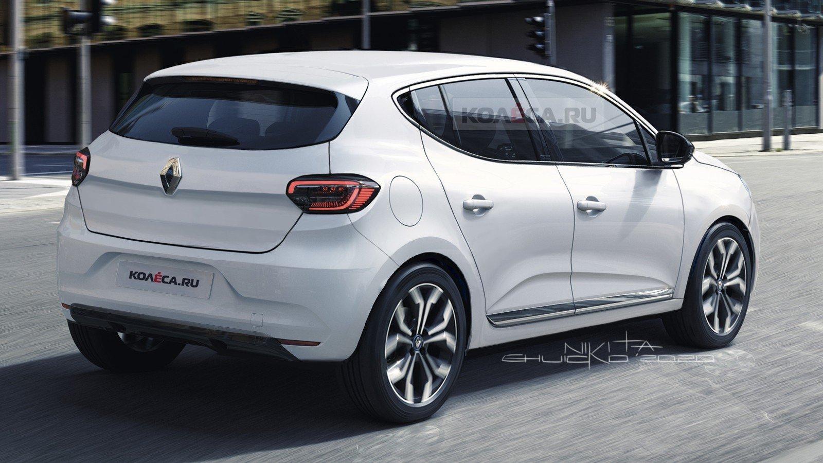В интернете опубликовали первые изображения нового Renault Sandero