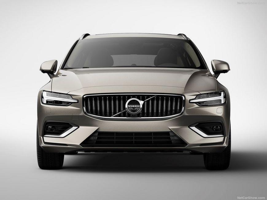 На фото: новое поколение Volvo V60