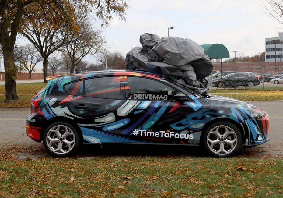 Новый Форд  Focus засветился без камуфляжной защиты