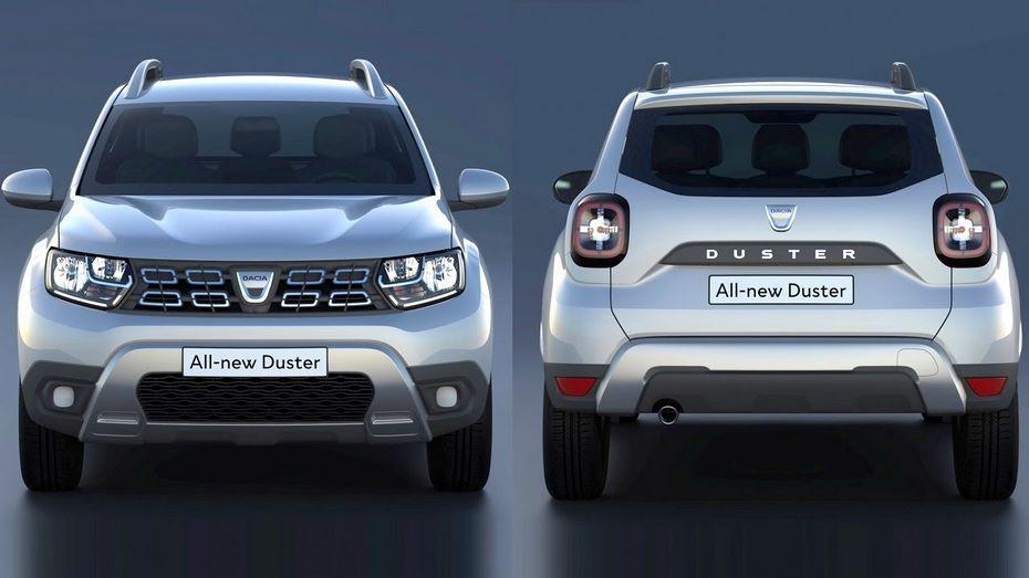 Характеристики иизображения нового Duster размещены  официально