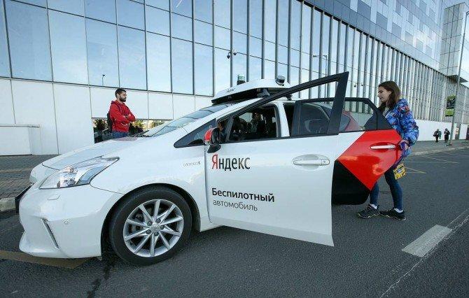 """Уже через 4 года беспилотные авто от """"Яндекс"""" будут перевозить пассажиров"""