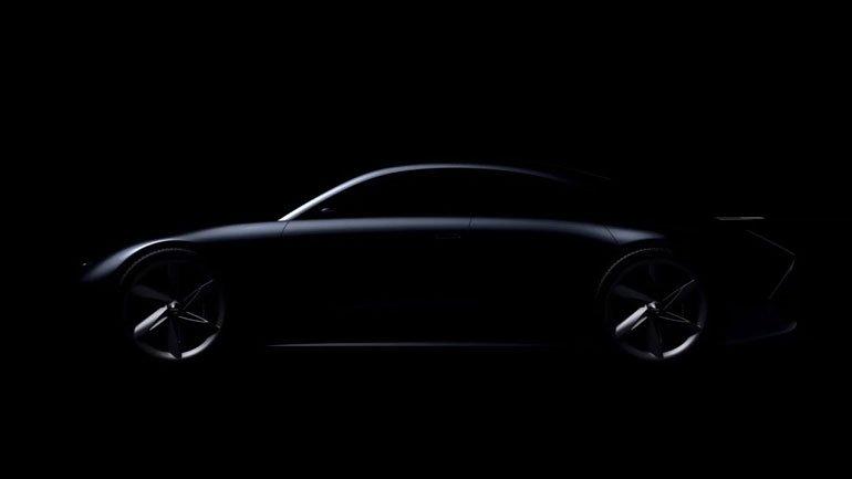 Hyundai показала тизер нового электрокара Prophecy