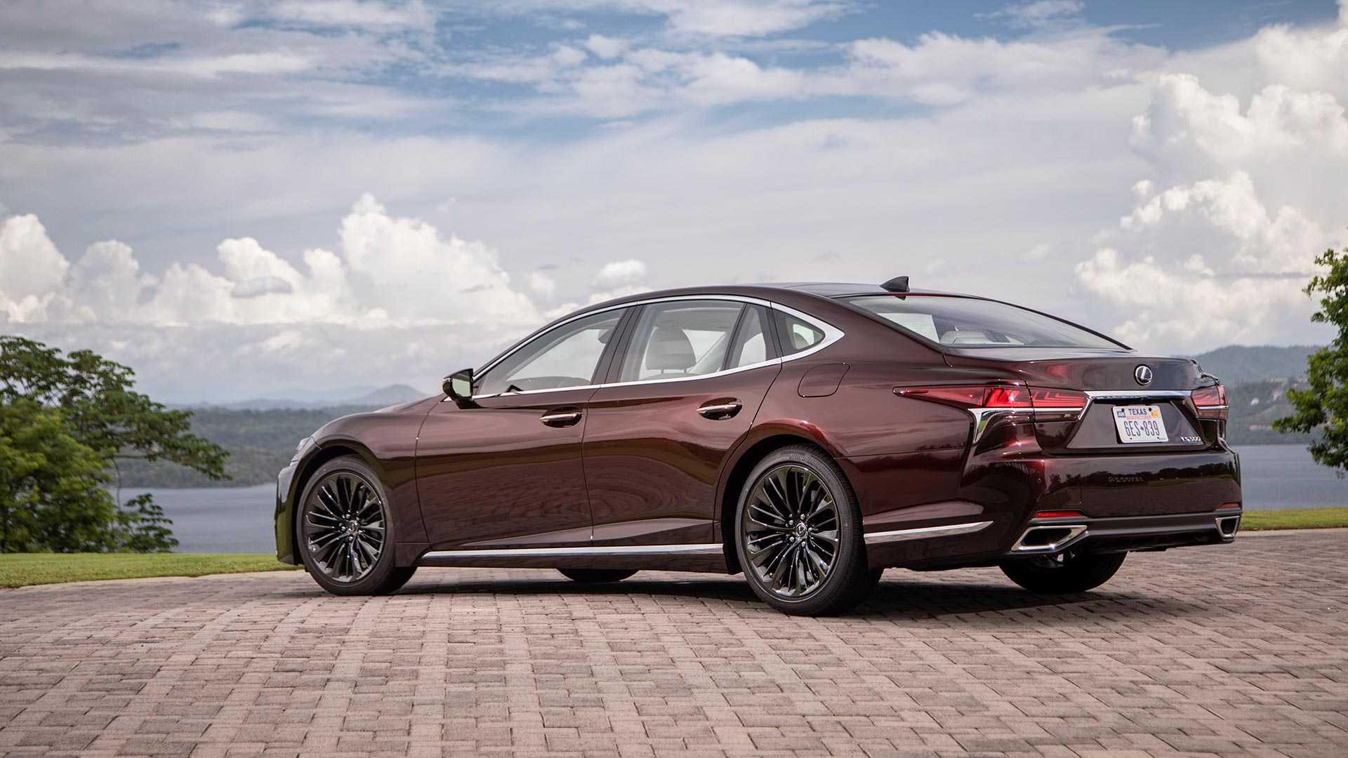 Что известно о обновленном полноразмерном седане Lexus LS?