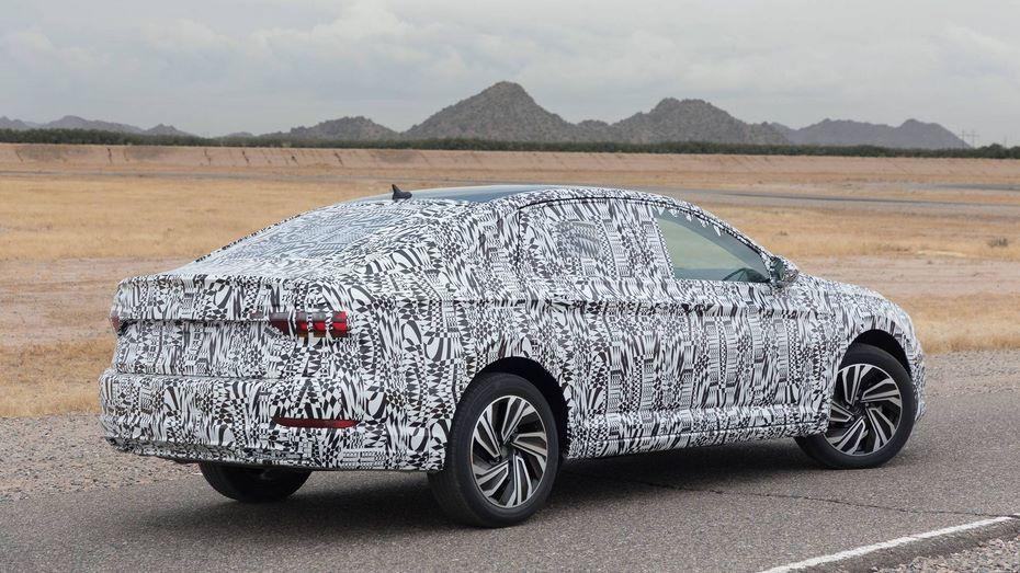 VW обнародовал 1-ый тизер седана Jetta обновленного поколения