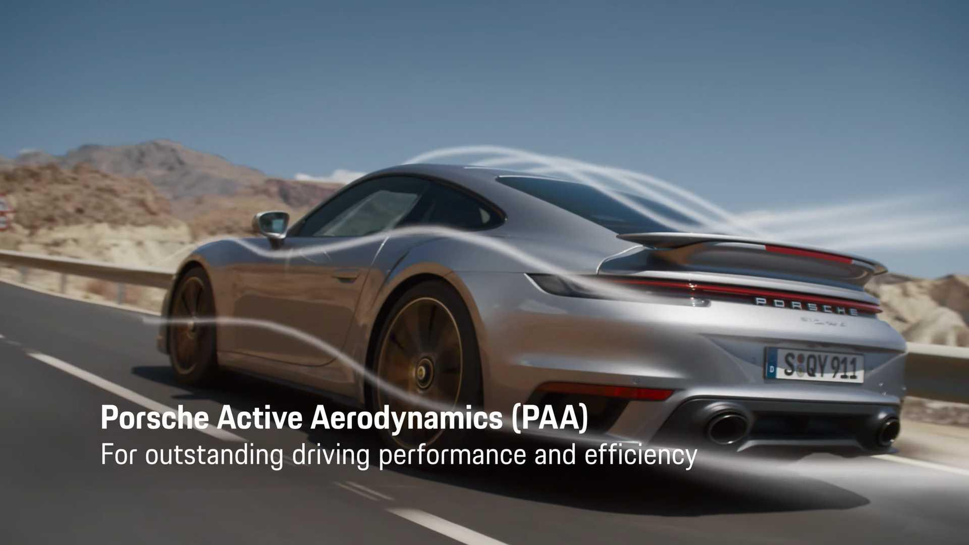 Porsche рассказывает о главных фишках нового 911 Turbo S