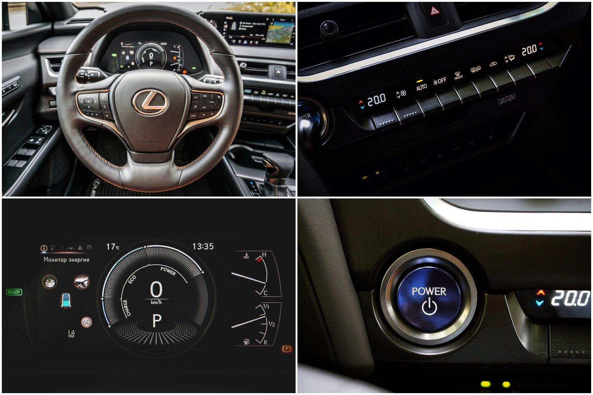 Lexus UX 250h технологичная новинка с гибридной установкой