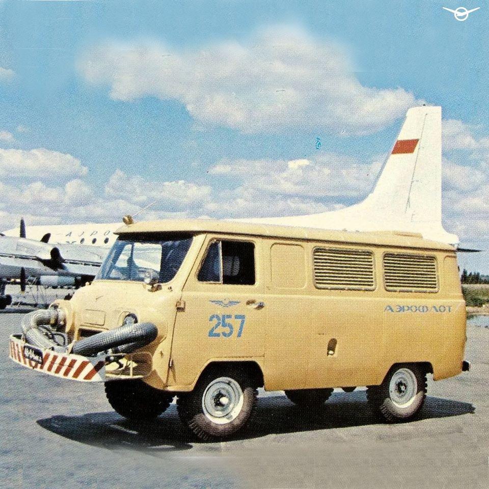 В интернете напомнили о УАЗ с мотором от самолета