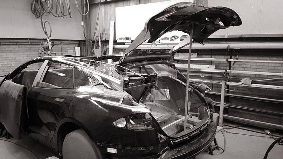 Размещены рендеры универсала набазе Tesla Model S