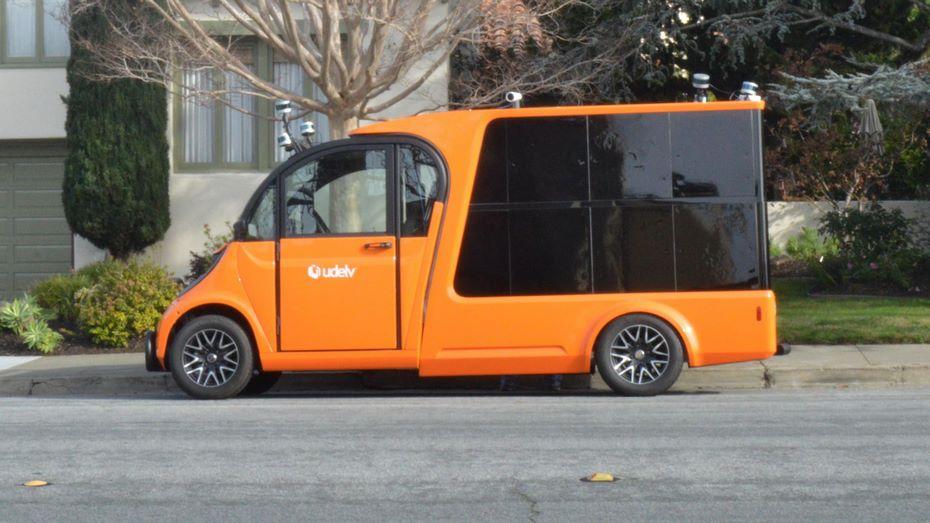 Стартап Udelv представил беспилотный электрический фургон