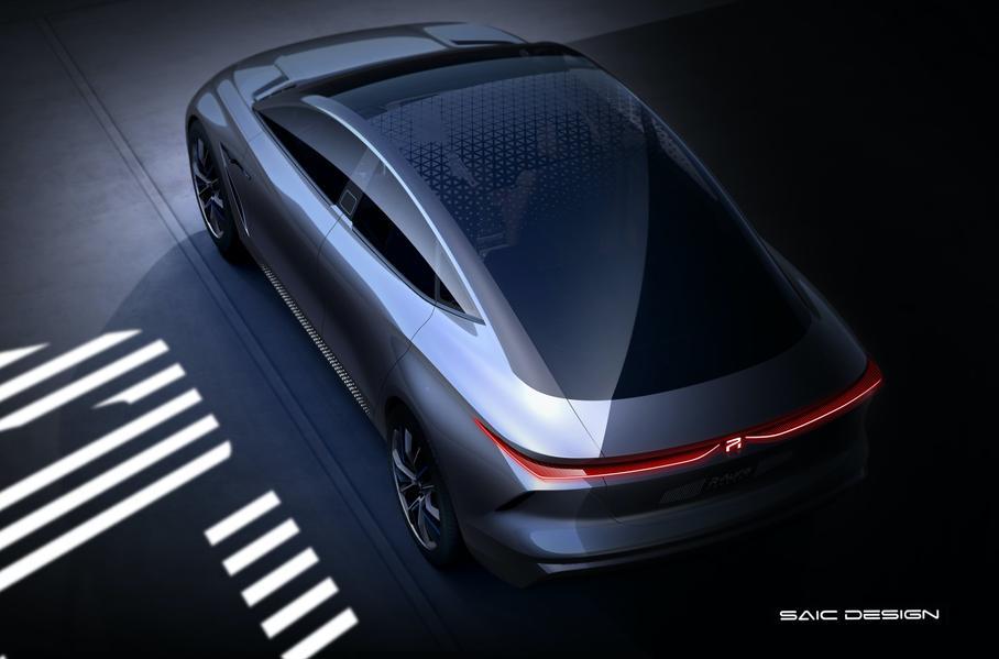Китайский бренд Roewe показал дизайн будущих электрокаров