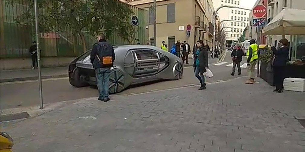 Рено тестирует собственный автомобиль будущего