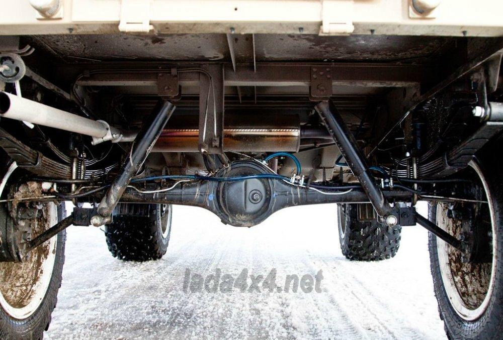 Lada 4x4 обзавелась «злой» модификации