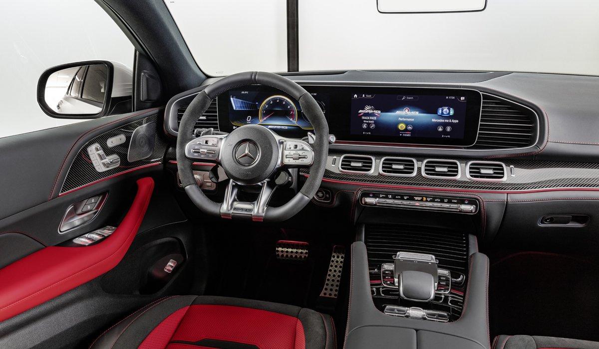 В РФ начались продажи нового Mercedes-AMG GLE 53 Coupe