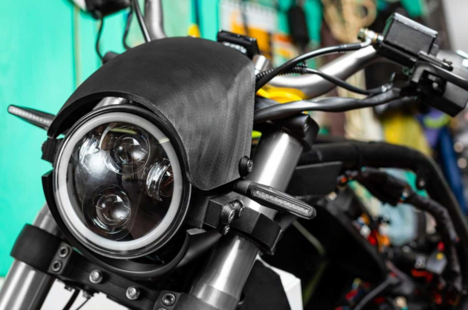 Поляк напечатал функциональный 3D-прототип электроцикла