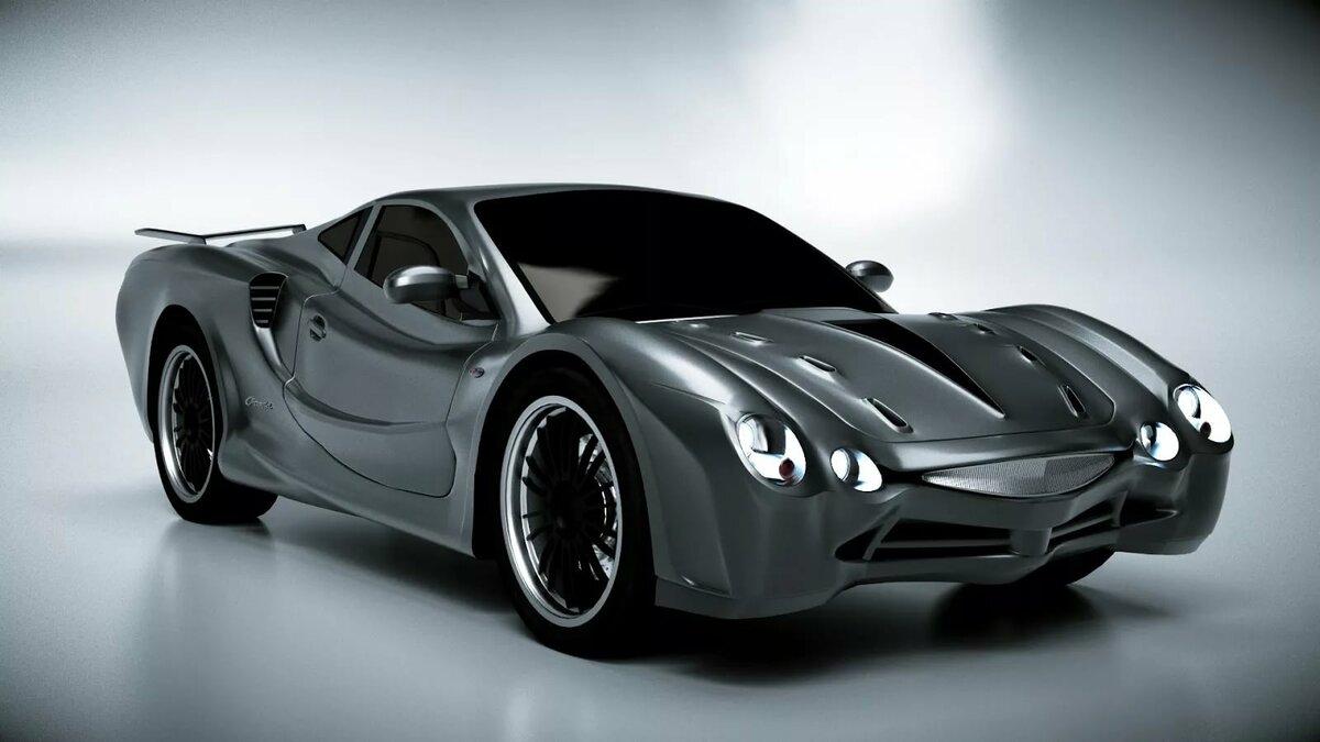 Из современного Nissan построили «глазастый» ретро-авто