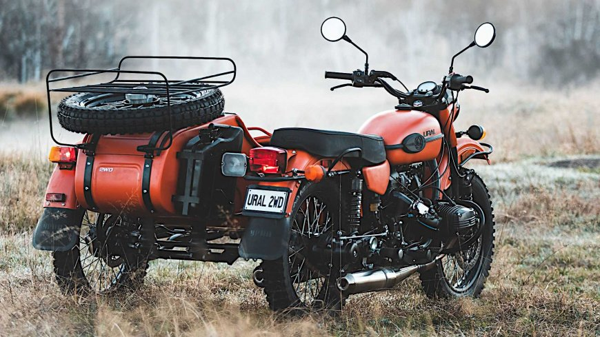 Анонсировали праворульный мотоцикл «Урал»