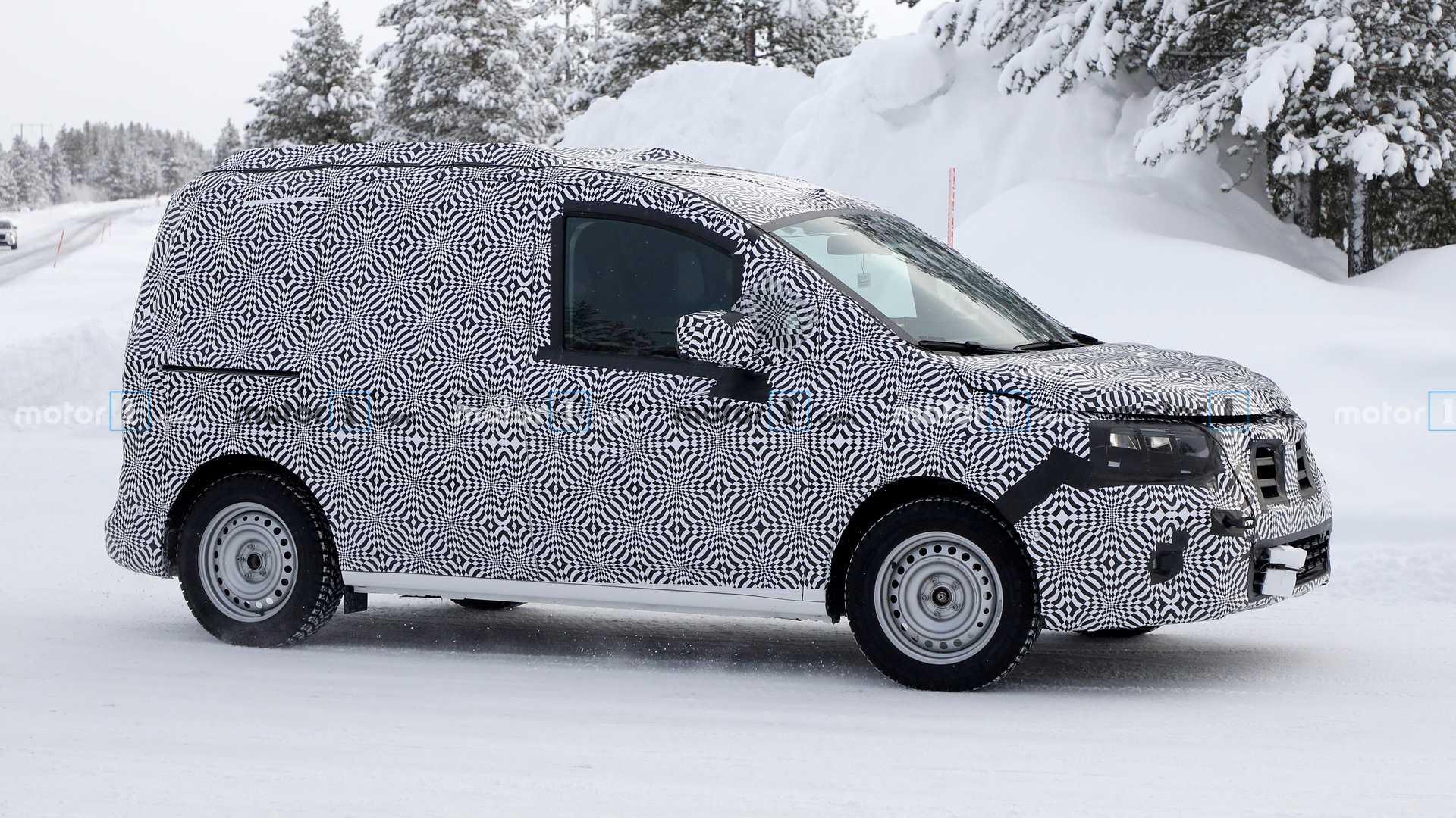 Renault Kangoo 2020 заметили на тестах в Швеции
