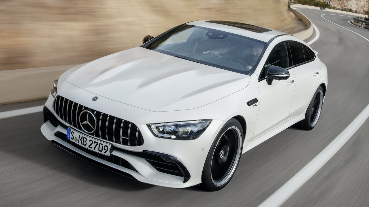 Российские тюнеры представили обвес для 4-дверного Mercedes-AMG GT