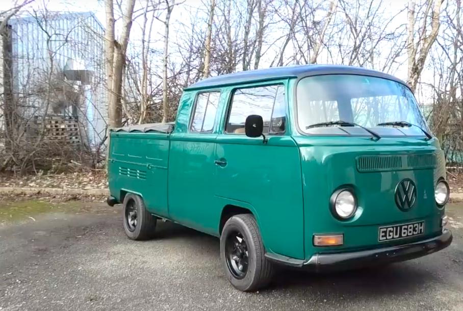 Пикап Volkswagen 1969 года выпуска стал электрокаром