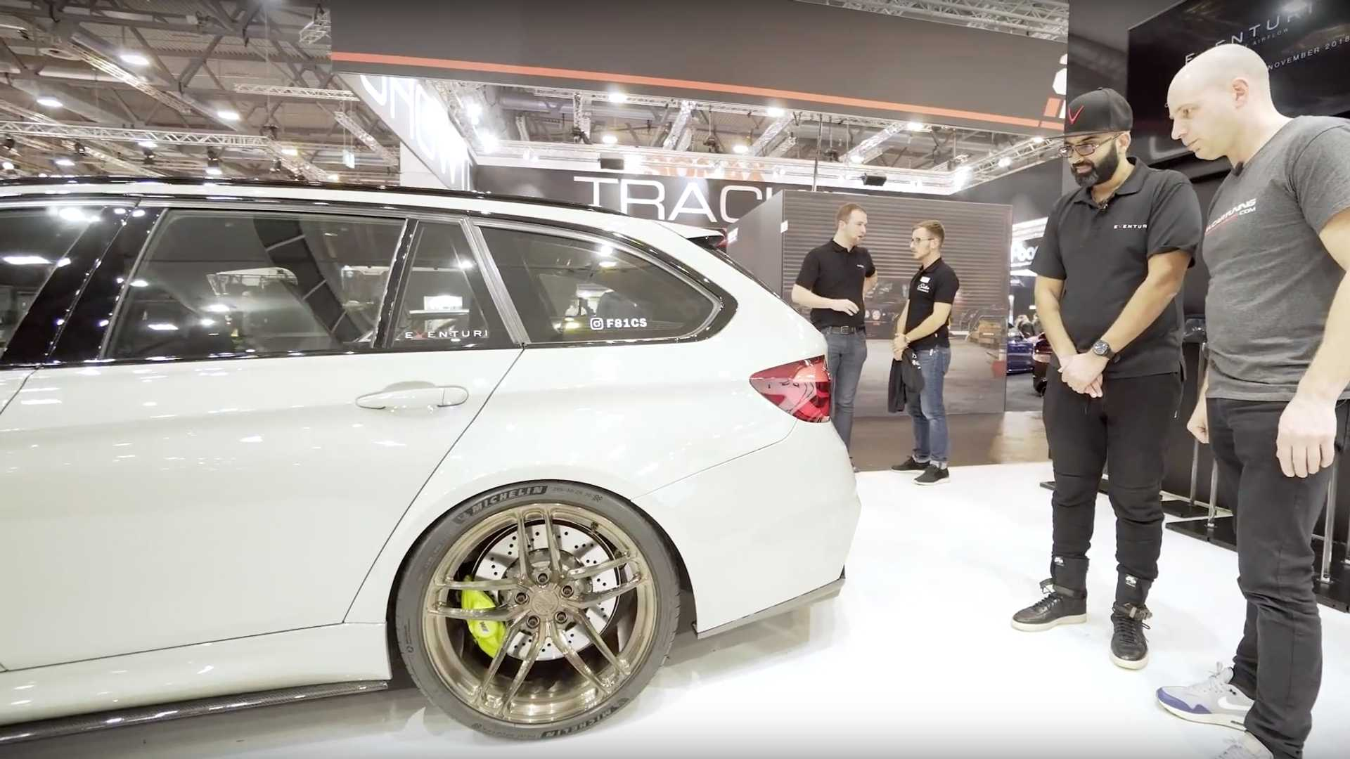 BMW представил обновленный универсал M3 CS Touring?