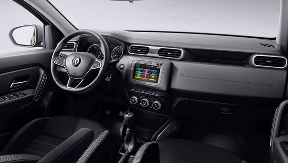 Новый «Дастер» показали исшильдиком Renault