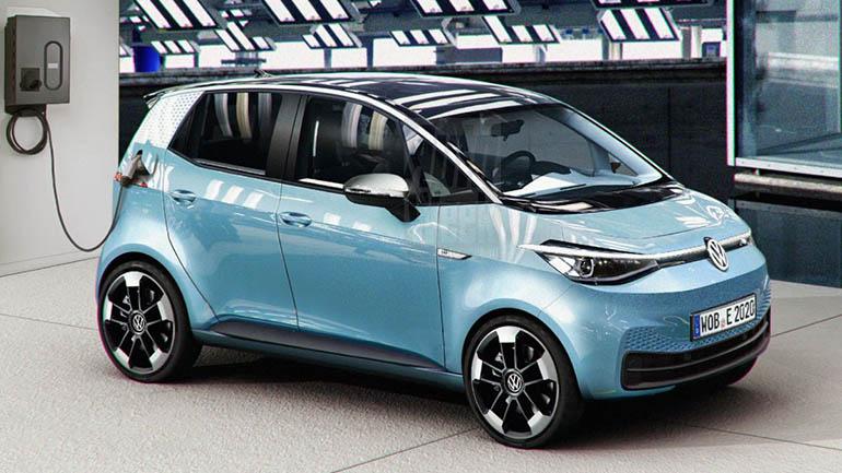 Первые изображения Volkswagen ID.1 показали в Сети