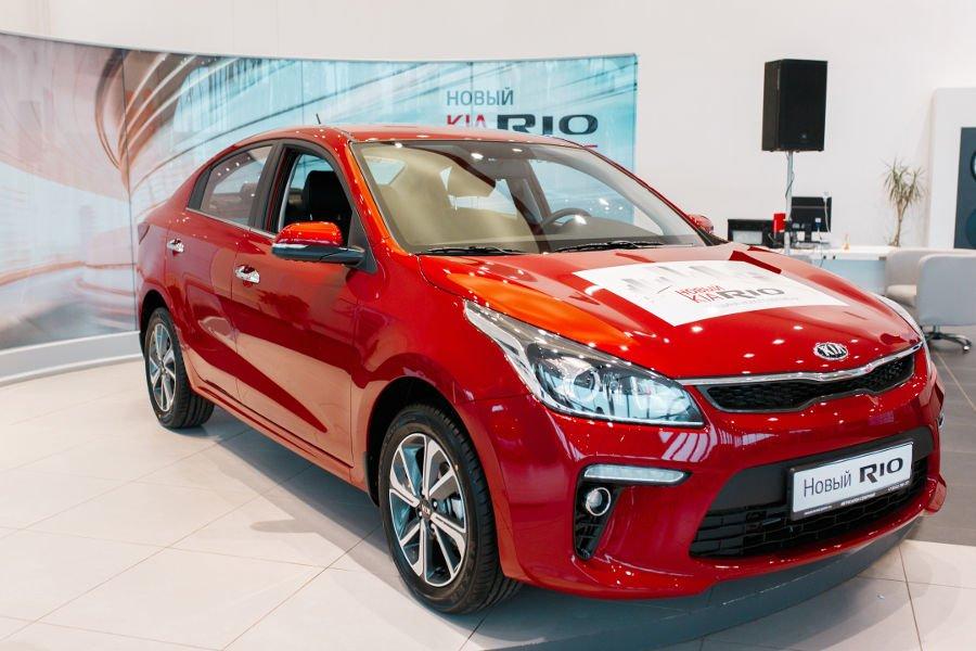 Свыше 38% машин KIA в марте продали в кредит