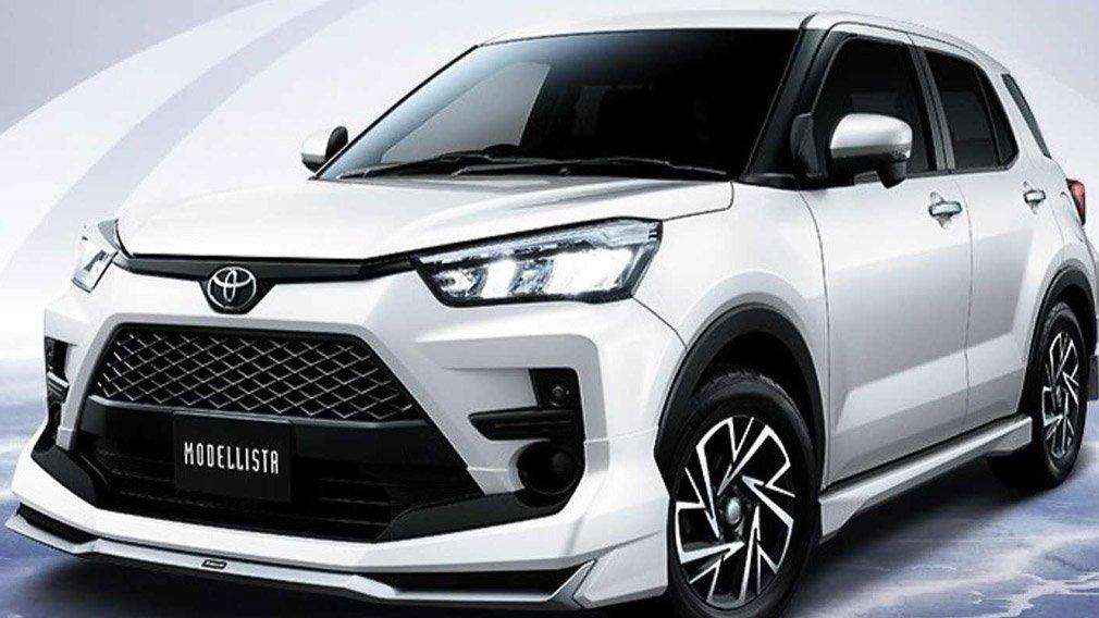 Новый кроссовер Toyota Raize обзавелся тюнинг-пакетами