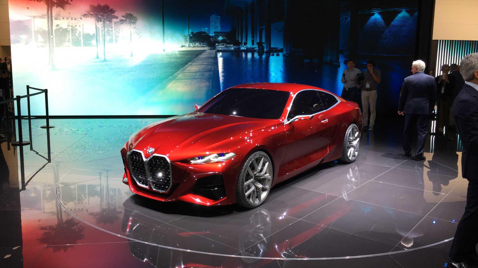 В Сети рассекретили новый кабриолет BMW Concept 4