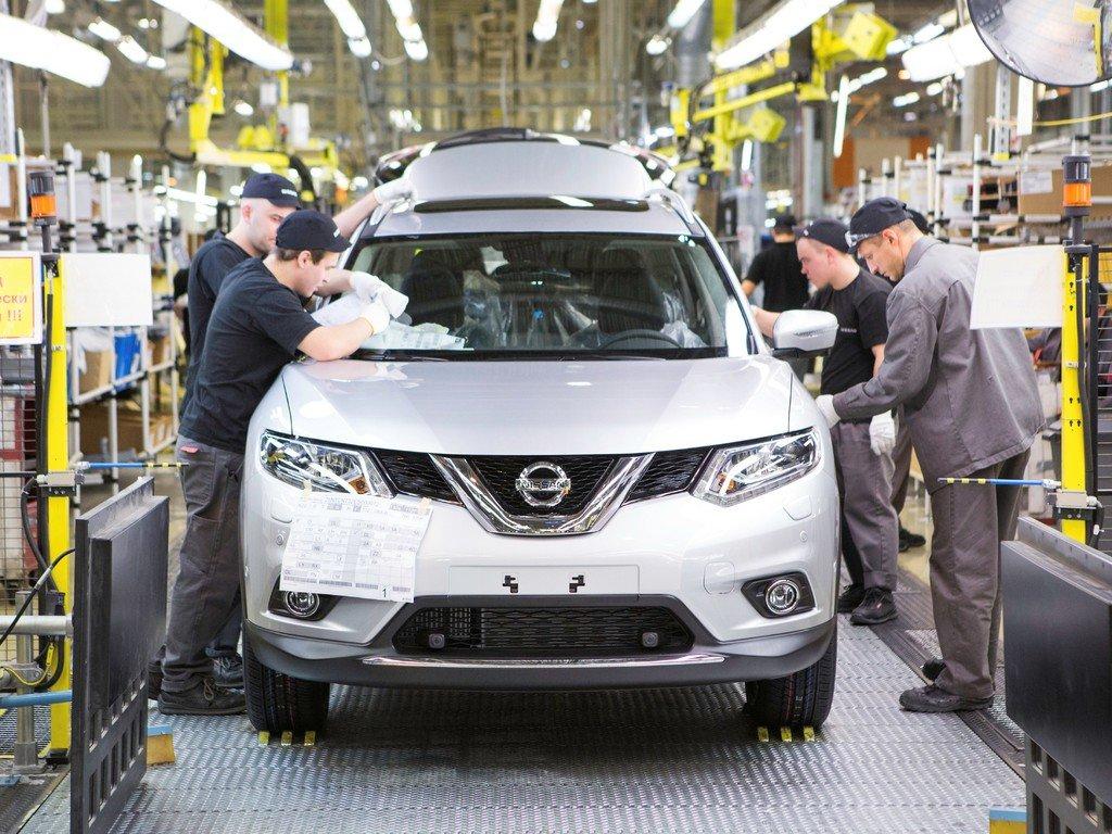 Nissan повысил объем производства Qashqai в РФ на 3%
