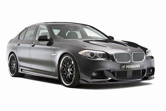BMW 5-Series на дисках 21-го диаметра - пакет от Hamann