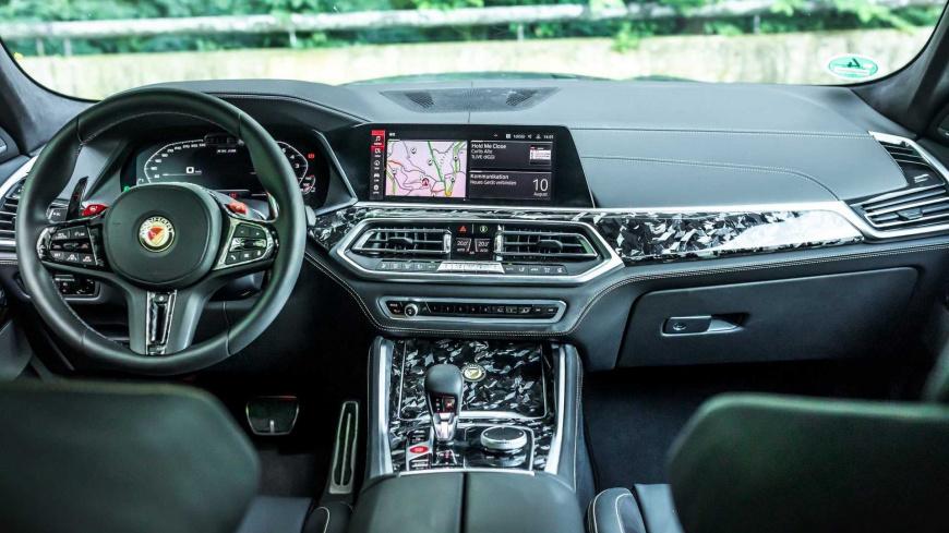 Ателье Manhart представило карбоновую версию BMW X6 M Competition
