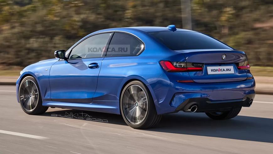 В Сети показали изображения нового BMW 3 Compact