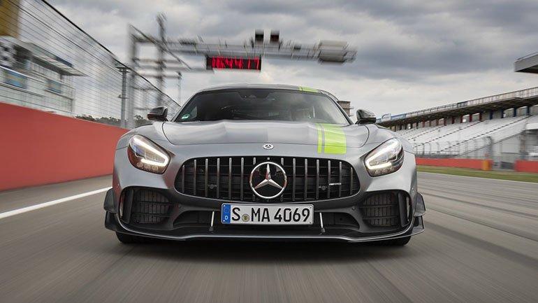 Названа стоимость трекового Mercedes-AMG GT R Pro