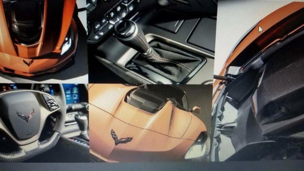 ВДубае представили 755-сильный Chevrolet Corvette ZR1 class=