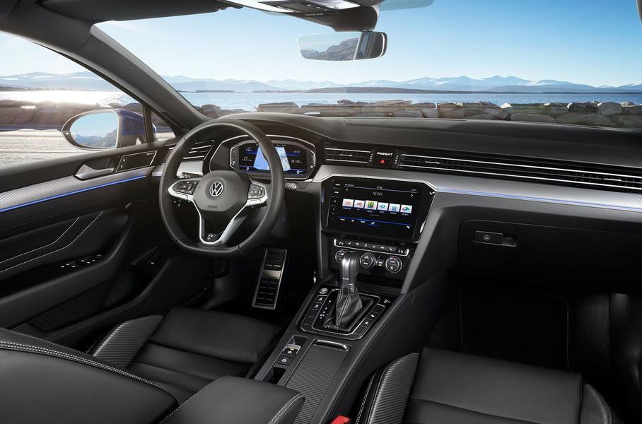 В РФ стартовали продажи обновленного Volkswagen Passat